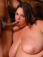 This sexy BBW by the name of Rikki Waters sure knows what shes doing when it comes to huge black cocks! Watch her get her DP on wh