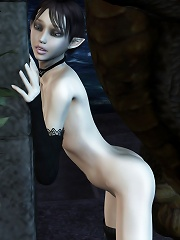 Tempting Sorceress gets assfucked