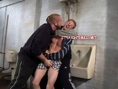 straight men tortured