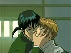 Gay hentai guys after practice make out and touch eachoter