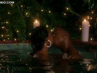 Hot Ebony Babe Tatyana Ali Getting Banged In A Jacuzzi