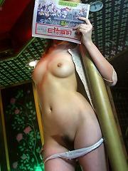 Hot Asian model