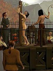 3D Elven Priestess gets...