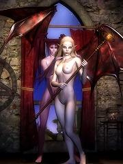 Tender Elven Priestess...