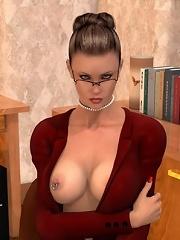 Hot 3D boyfriend softcore...