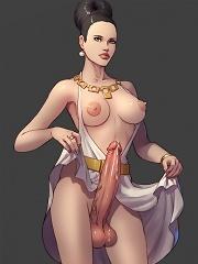 Shemale toon tossing her cock^Shemale Toons Futanari porn sex xxx futa shemale cartoon toon drawn drawing hentai gay tranny