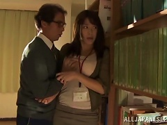 Nasty Hot  Japanese Chick Miku Sunohara Gets Drilled Doggystyle In A Hot Orgasm