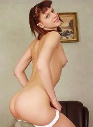 Honey In A Nice Little Dress And Panties Fingers Her Sensitive Little Clit. Teen Porn Pix