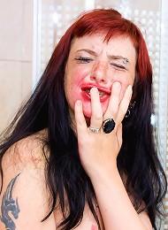 Alt Model Marixa Cries And Poses Topless For Camera Teen Porn Pix