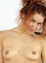 Redhead Teenie Toying Both Holes Teen Porn Pix