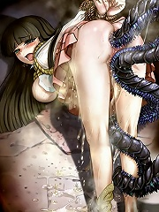 Chichi pleasures Captain then penetrated