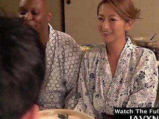 SpankWire Video - Hot Japanese Milf Gets A Big Black Dick