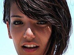 Beeg Video - Super Cute Brunette Scarlett Does It For Money