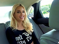 BravoTube Video - Uma Needs A Ride Home, But She Fucks In The Car Before They Drive