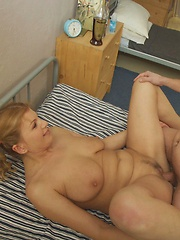 Keira likes when young boys fuck her in doggy style.