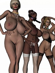 3D BDSM Toon